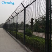 2.1m Used Wrought Iron Airport Fence Panel
