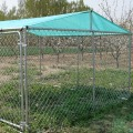 Garden Outdoor Chain Link Boxed Dog Run