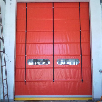 Materiali i materialit PVC Fold up Door Large Size