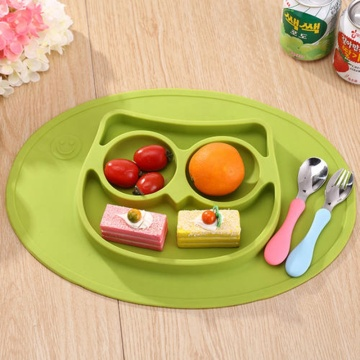 Children's silicone plate plastic injection molding products