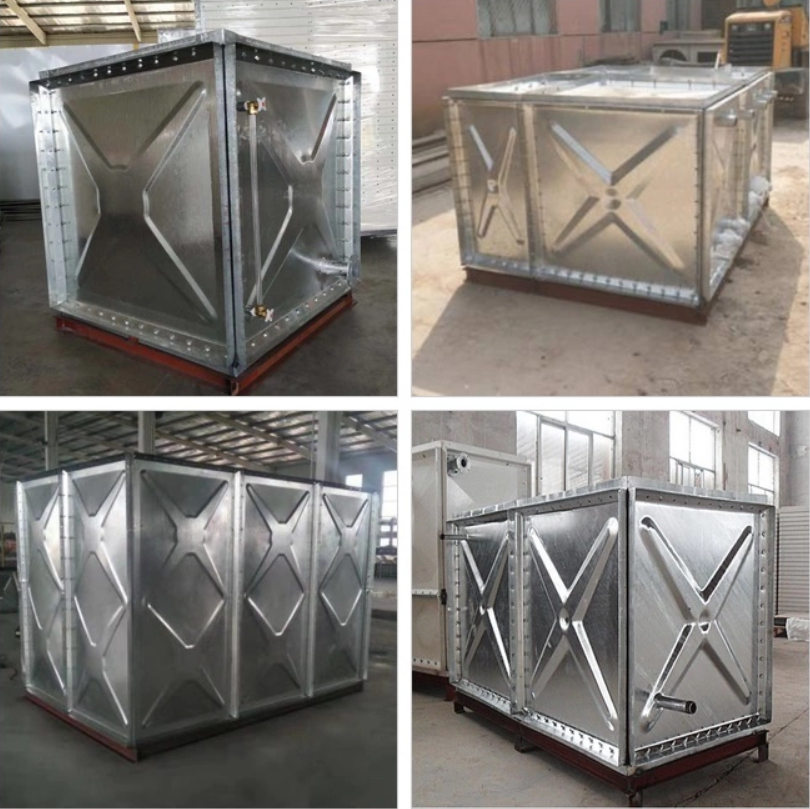 Storage Galvanized Steel Water Tank