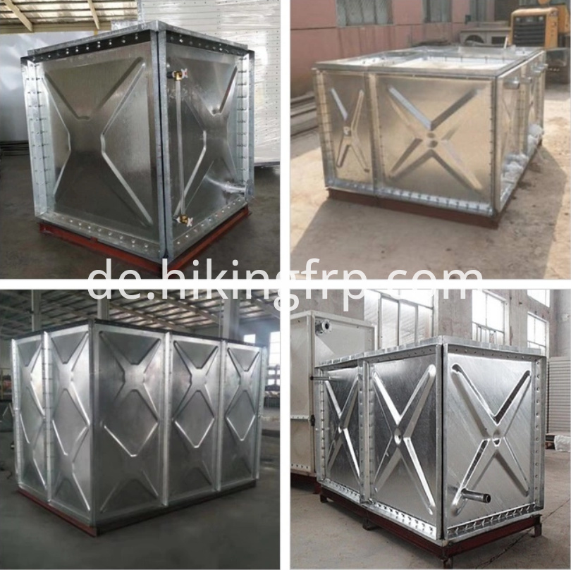 Steel Tanks For Fire Figthing