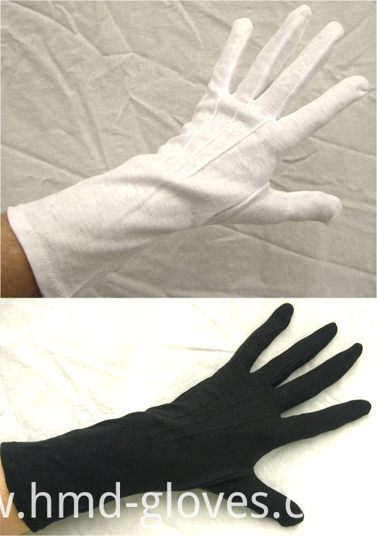 Uniform Ceremony White Cotton Etiquette Cotton Glove