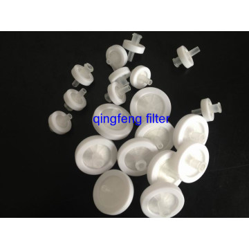 Hydrophobic 0.45 Micron PTFE Syringe Filter for Filtration