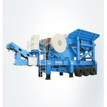Concrete Gravel Rock Mobile Stone Crushing Crusher Machine