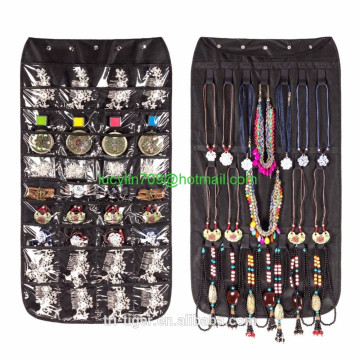 Canvas 72 Pocket Hanging Jewelry Organizer