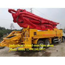 Hot sale good quality for China Concrete Pump Truck,Small Concrete Pump Truck,Concrete Pump Mixer Truck Manufacturer XCMG/SANY 45m,46m, 49m concrete boom pump truck export to Austria Factories