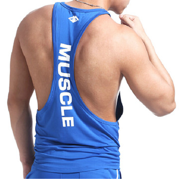 OEM supply custom gym wear muscle stringer vest