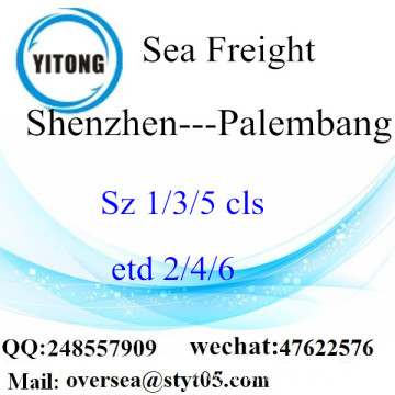 Shenzhen Port LCL Consolidation To Palembang