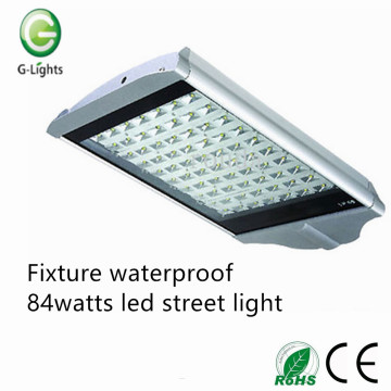 Fixture waterproof 84watts led street light