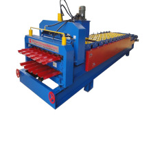 Big discounting for Roman Glazed Tile Double Deck Roll Forming Machine,Glazed Double Layer Forming Machine,Glazed Double Deck Making Machine Manufacturer in China Ibr Glazed Double Layer Roll Forming Machine export to Mauritania Importers