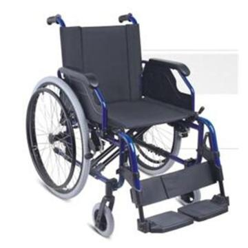 Steel And Aluminum Material Wheelchair