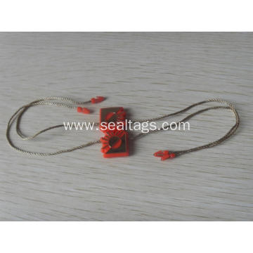 plastic glass seal tag