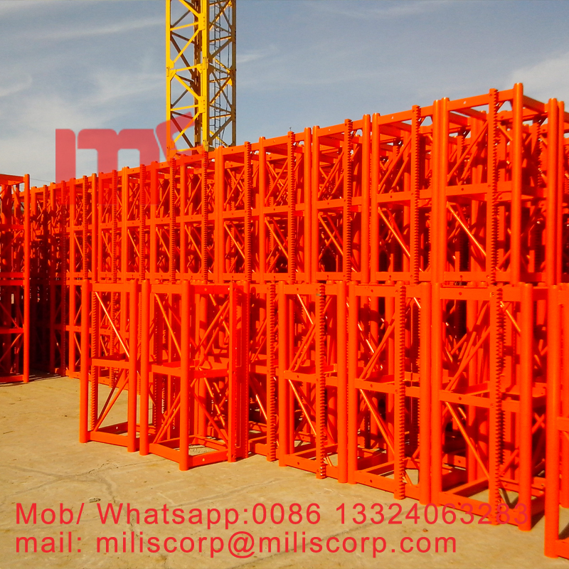 miliscorp construciton hoist mast section
