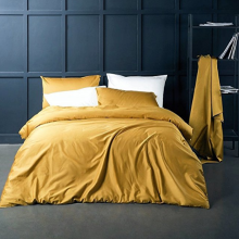 Solid Color Cotton Sateen Duvet Covers