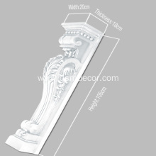 Good quality 100% for Hand Carved Mantel Pieces PU Foam Decorative Fireplace Mantels export to South Korea Exporter