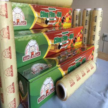 Food Grade Fresh Keep PVC cling film Eco-Friendly