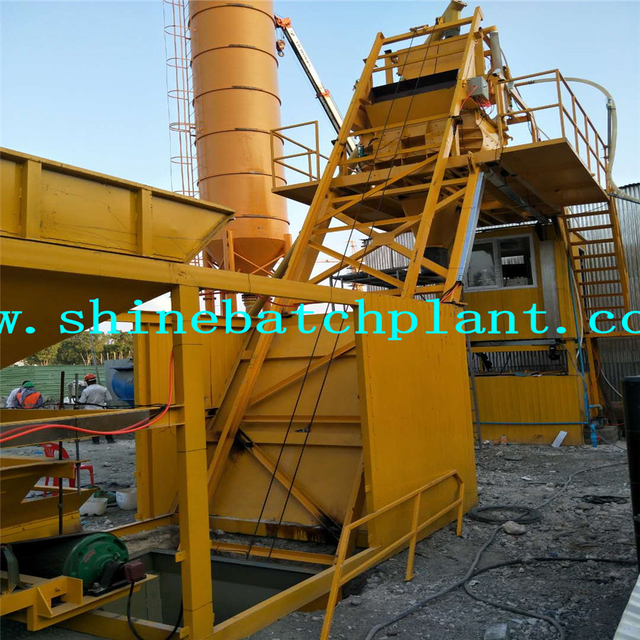Ready Mobile Concrete Batching Plant