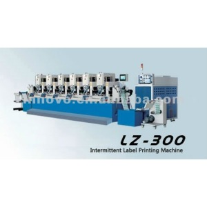 Intermittent Six Color Label  Printing Machine (LZ-300)