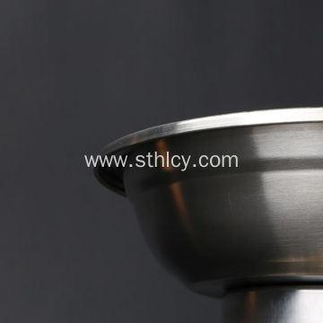 Round Kitchen Thickened Wire-drawing Household Dish