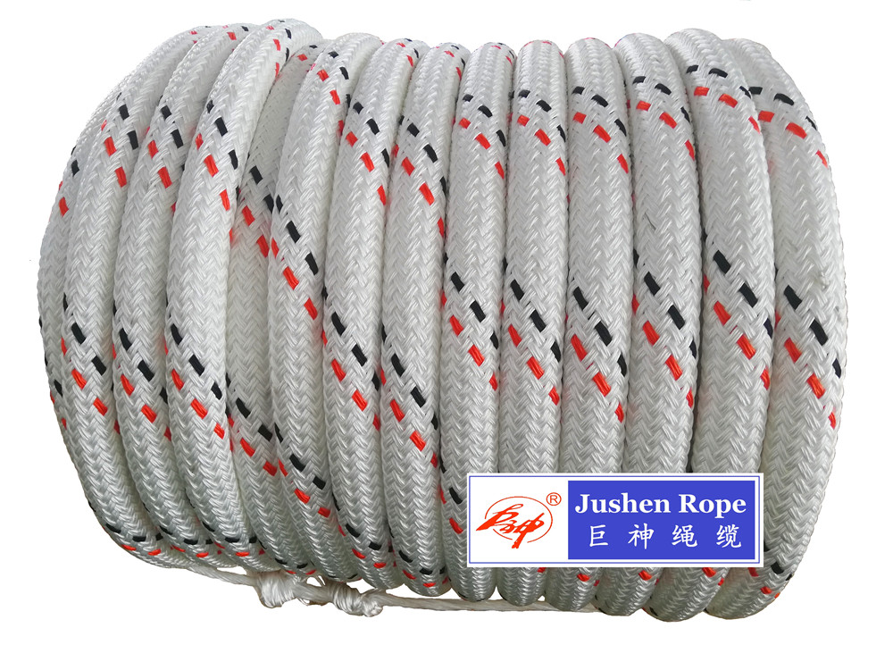 Nylon Double Braided Mooring Rope