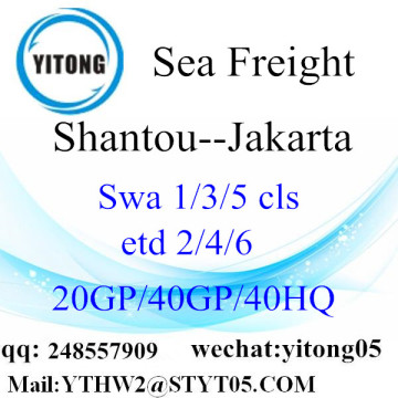 Internatioanl Shipping Service to Jakarta