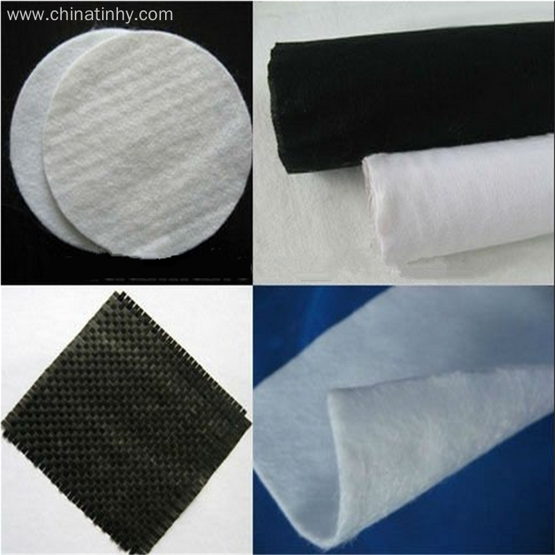 Tear-Resistant Nonwoven Needle Punched Civil Work Textiles
