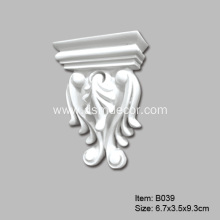 Small Polyurethane decorative Odessa Corbel