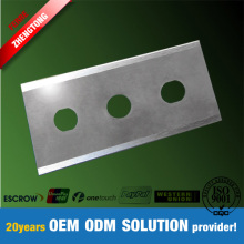 Three Holes Knife for Plastic Film Foil