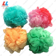 Cheap for Mesh Sponges Bath Ball 2-in-1 Pantone Color luffa bath sponge shower scrub supply to Armenia Factory