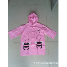 Waterproof Eco-friendly PVC Children Raincoat