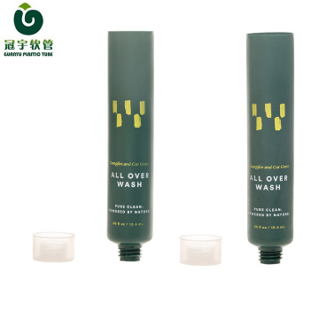 10ml cosmetic plastic tube for hand gel packaging