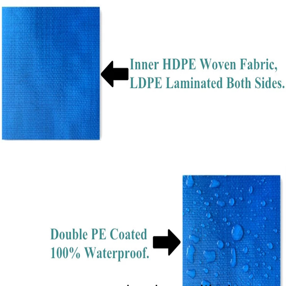 Waterproof Laminated Tarpaulin Fabric For Cover