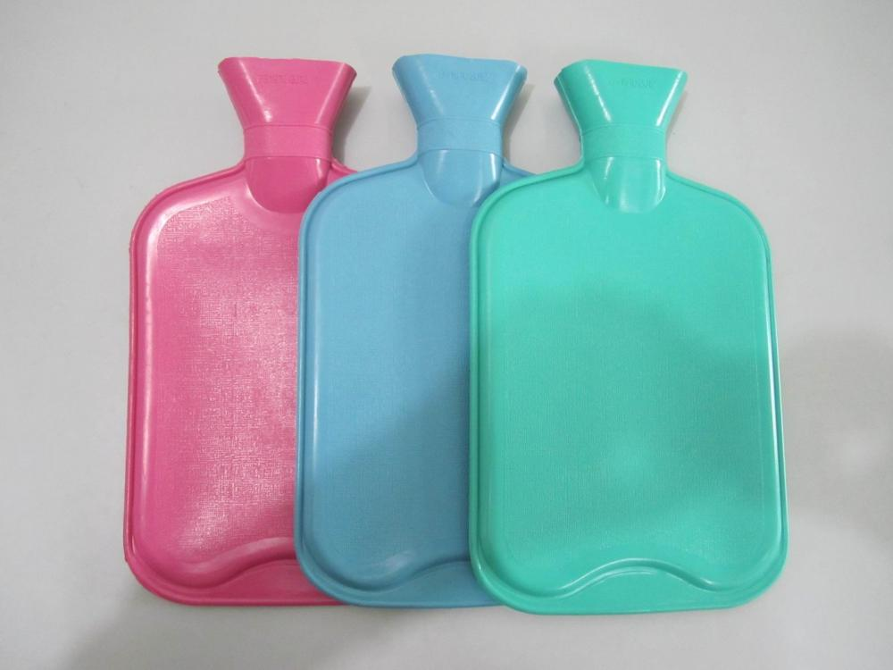 Medical Natural Rubber Hot Water Bag With Cover
