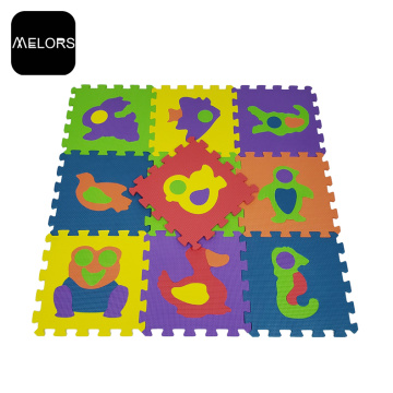 Melors Soft Washable EVA Animals Safe tatami mat