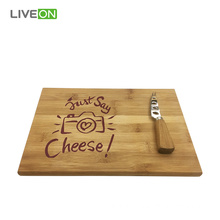 professional factory provide for China Cheese Board Set,Cheese Board,Cheese Cutting Board Manufacturer Natural Cheese Set Bamboo Cheese Board export to Armenia Manufacturer