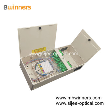 New Compact Type FTTH Optical Distribution Box 1X32 PLC Splitter Box