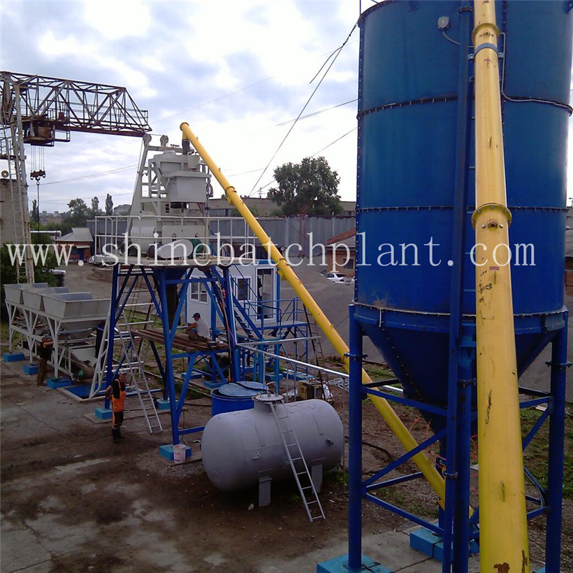 Skip hopper type Concrete Batching Plant