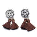 Bohemian Jewelry Delicate Tassel Earrings Alloy Ear StudsBohemian Jewelry Delicate Tassel Earrings Alloy Ear Studs