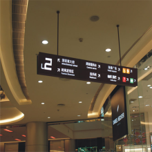 Customized Directional Hanging LED Light Box Signs