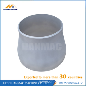 Aluminum reducer pipe fittings