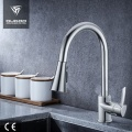Modern pull out spray kitchen faucet