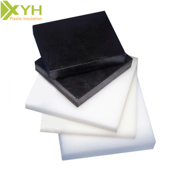 White / Black 2mm Pom Polyacetal Sheets