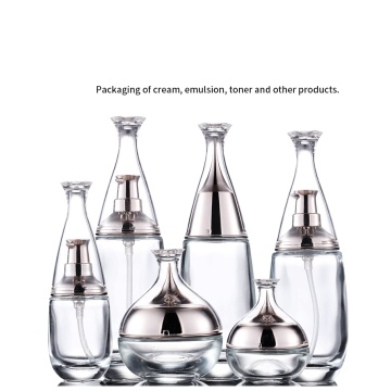 High-grade cosmetics bottle essence glass bottle