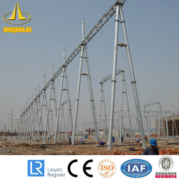 High Quality Industrial Factory for Steel Tubular Substation Structures Substation Steel Pole Power Structure Design Guide export to Congo Factories