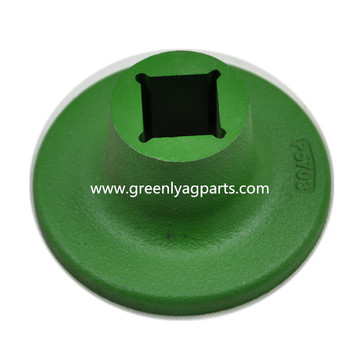 Top for KMC/Kelly agricultural machinery replacement parts 06-057-003 KMC/Kelly Disc Convex green Spool supply to Equatorial Guinea Manufacturers
