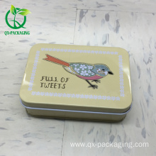 Cheap for Tin Gift Box,Metal Tin Gift Box,Custom Tin Gift Cans Manufacturers and Suppliers in China tin case tin box tin container export to Italy Factory