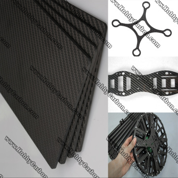 China for Carbon Fiber Glass Sheet carbon fiber armor carbon glass sheet supply to France Factory