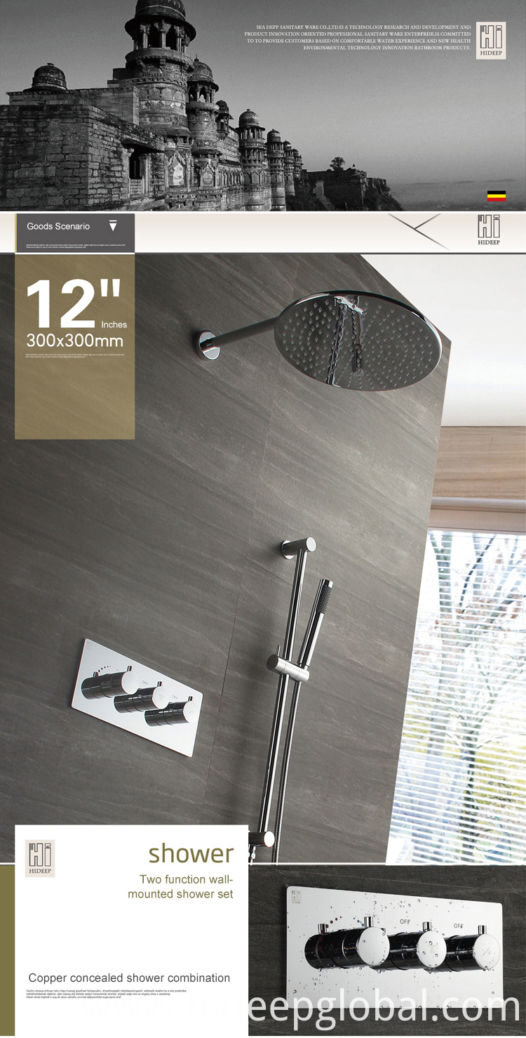 Shower Faucet Set Mixer Tap