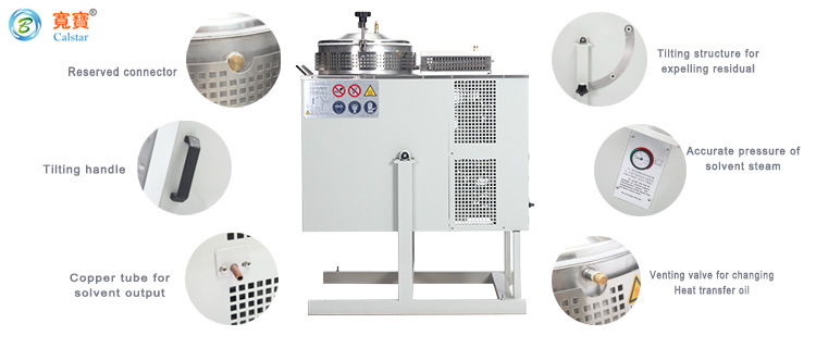 Ethanol Extraction Solvent Recovery Machine 5
